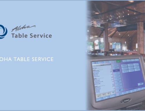 Aloha Table Service